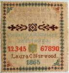 1865 Laura Caroline Norwood